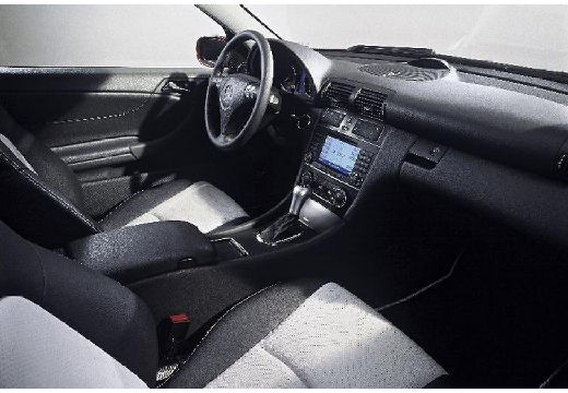 MERCEDES-BENZ Klasa C Sport CL203 II coupe wnętrze
