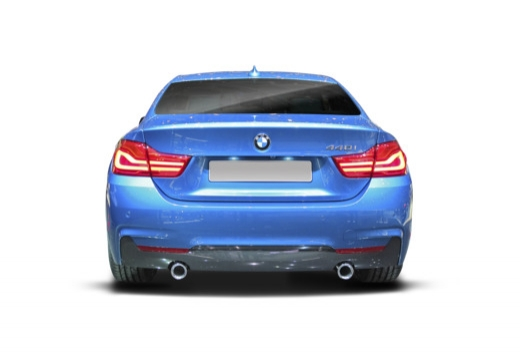 BMW Seria 4 coupe tylny