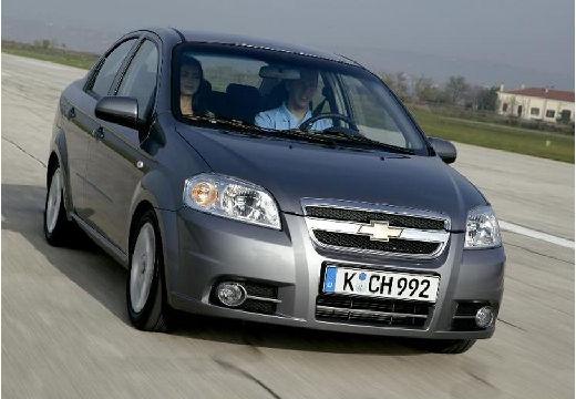 CHEVROLET Aveo II sedan silver grey przedni prawy