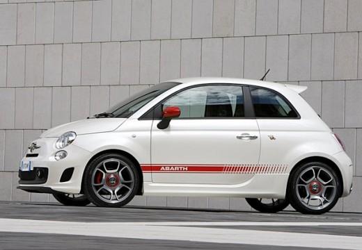 FIAT 500 I hatchback biały przedni lewy