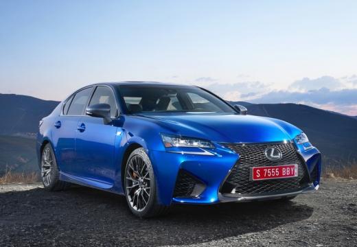 LEXUS GS V sedan niebieski jasny przedni prawy