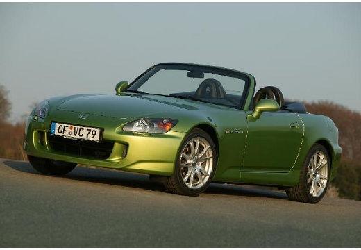 HONDA S 2000 I roadster zielony przedni lewy