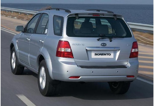 KIA Sorento II kombi silver grey tylny lewy