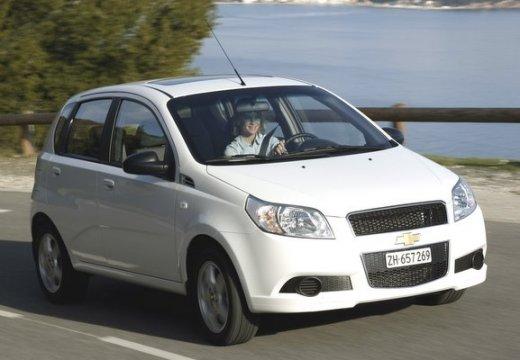 CHEVROLET Aveo II hatchback biały przedni prawy
