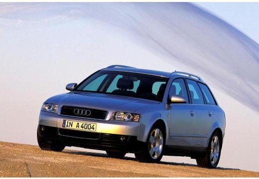 AUDI A4 Avant 8E I kombi silver grey przedni lewy