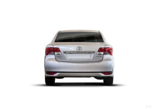 Toyota Avensis sedan silver grey tylny