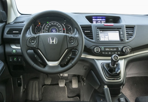 HONDA CR-V VI kombi biały tablica rozdzielcza
