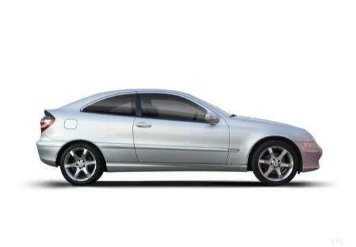 MERCEDES-BENZ Klasa C Sport CL203 II coupe boczny prawy