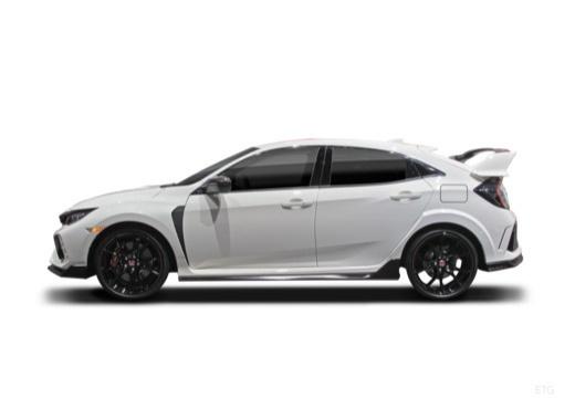 HONDA Civic X hatchback boczny lewy