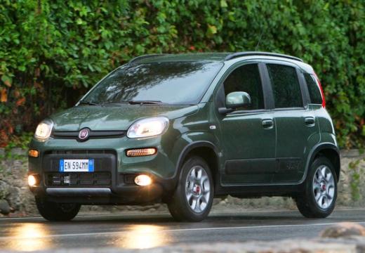 FIAT Panda III hatchback zielony przedni lewy