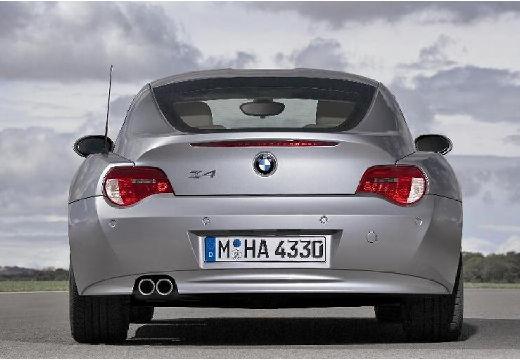 BMW Z4 coupe silver grey tylny
