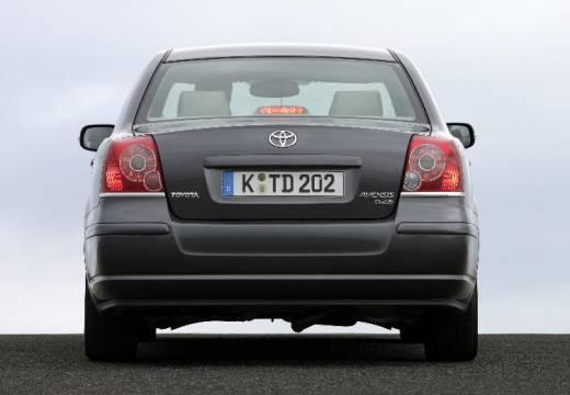 Toyota Avensis IV sedan szary ciemny tylny