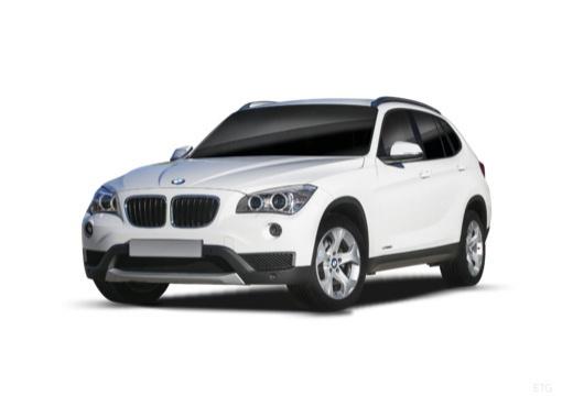BMW X1 X 1 E84 II kombi biały przedni lewy