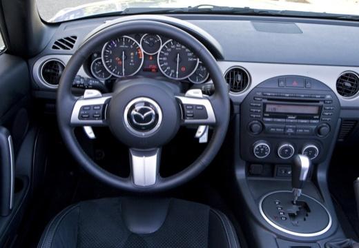 MAZDA MX-5 V roadster szary ciemny tablica rozdzielcza
