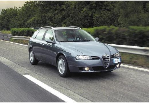 ALFA ROMEO 156 Sportwagon III kombi czarny przedni prawy