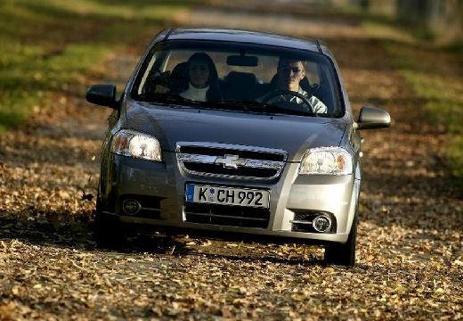 CHEVROLET Aveo II sedan silver grey przedni