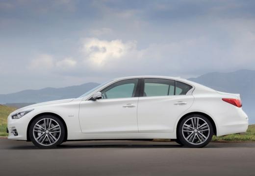 INFINITI Q50 I sedan biały boczny lewy
