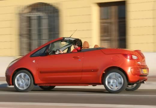MITSUBISHI Colt CZC kabriolet pomarańczowy tylny lewy