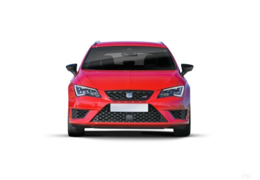 SEAT Leon ST I kombi czerwony jasny przedni