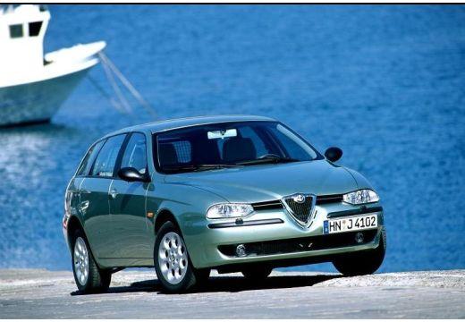 ALFA ROMEO 156 Sportwagon I kombi zielony jasny przedni prawy
