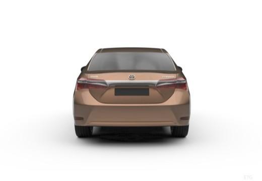 Toyota Corolla III sedan tylny