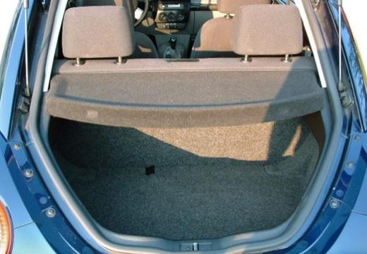VOLKSWAGEN New Beetle I coupe niebieski jasny przestrzeń załadunkowa