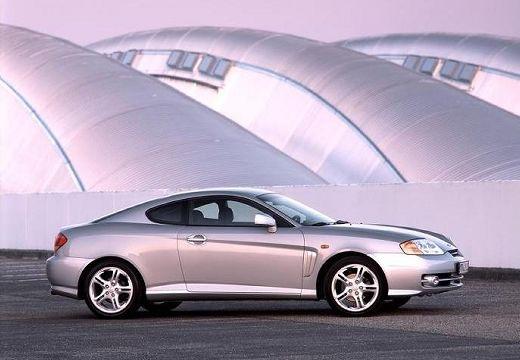 HYUNDAI coupe silver grey przedni prawy