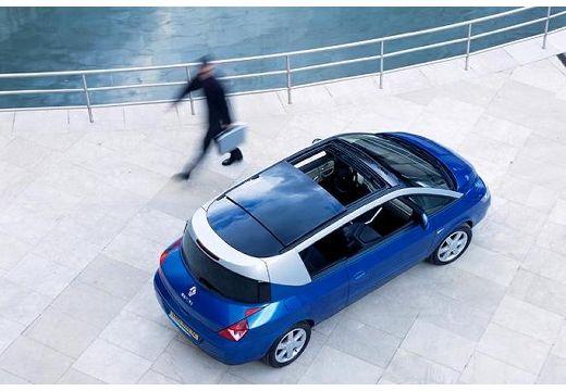 RENAULT Avantime hatchback niebieski jasny górny tylny