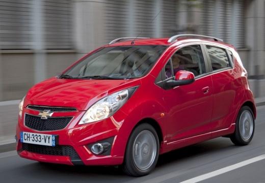 CHEVROLET Spark hatchback czerwony jasny przedni lewy