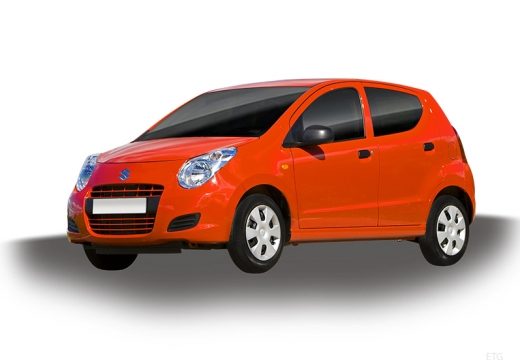 SUZUKI Alto hatchback czerwony jasny