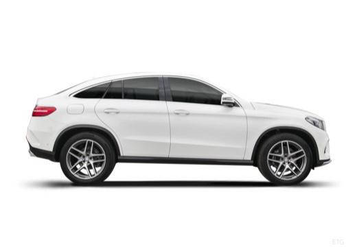 MERCEDES-BENZ Klasa GLE 292 hatchback boczny prawy