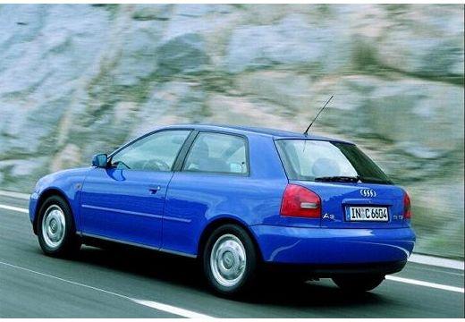 AUDI A3 /S3 8L I hatchback niebieski jasny tylny lewy