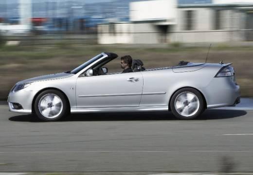 SAAB 9-3 Cabriolet III kabriolet silver grey boczny lewy
