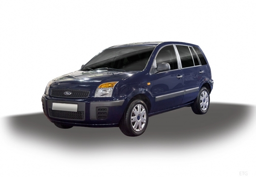FORD Fusion II hatchback niebieski jasny