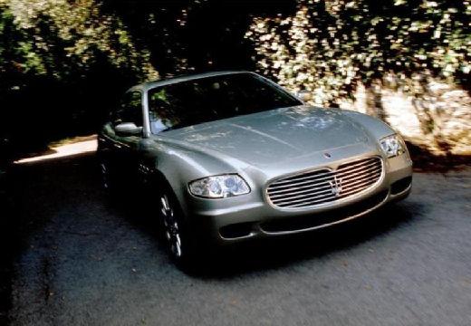 MASERATI Quattroporte II sedan silver grey przedni prawy