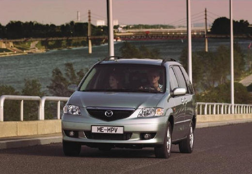 MAZDA MPV III van silver grey przedni lewy
