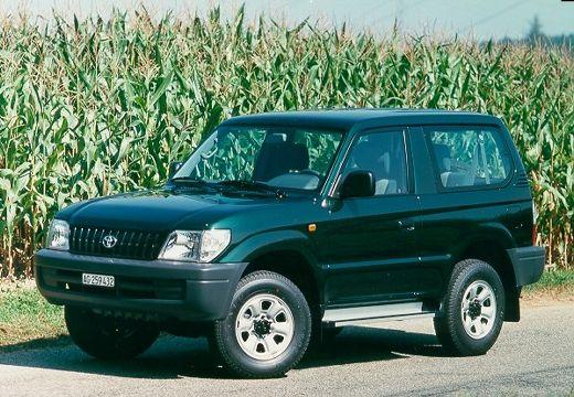 Toyota Land Cruiser III kombi zielony przedni lewy