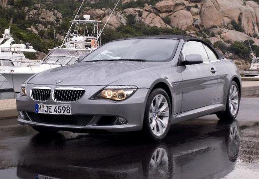 BMW Seria 6 kabriolet silver grey