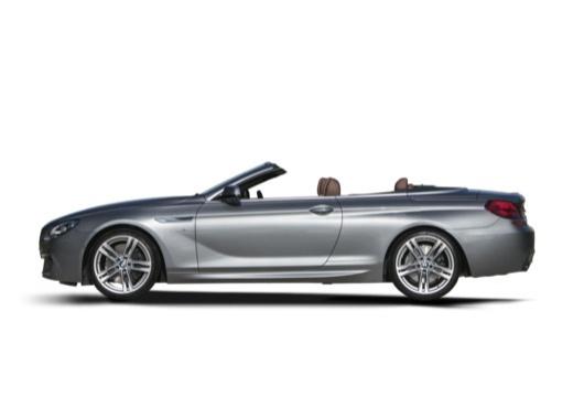 BMW Seria 6 kabriolet boczny lewy