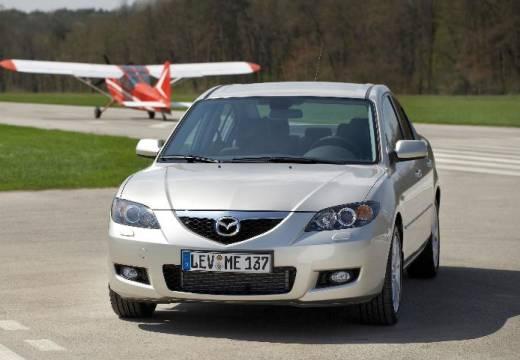MAZDA 3 II sedan silver grey przedni lewy