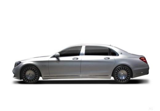 MERCEDES-BENZ S Klasa sedan boczny lewy