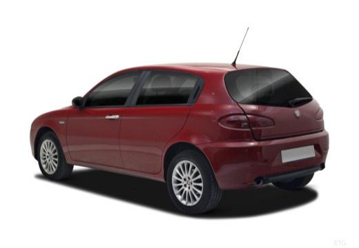 ALFA ROMEO 147 II hatchback tylny lewy