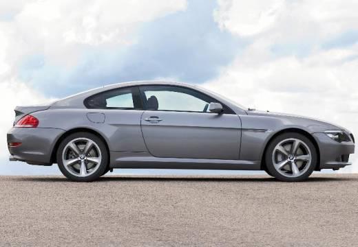 BMW Seria 6 E63 II coupe silver grey boczny prawy