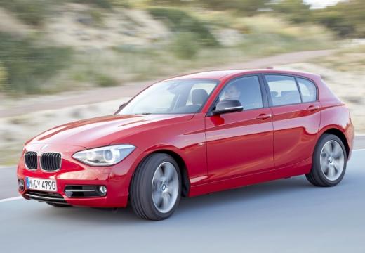 BMW Seria 1 F20 I hatchback czerwony jasny przedni lewy