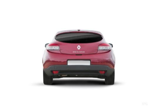 RENAULT Megane III Coupe III hatchback czerwony jasny tylny