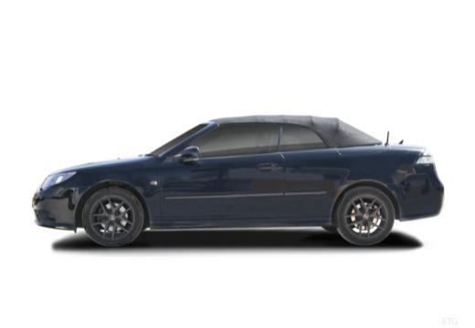 SAAB 9-3 Cabriolet III kabriolet czarny boczny lewy