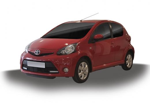 Toyota Aygo III hatchback czerwony jasny