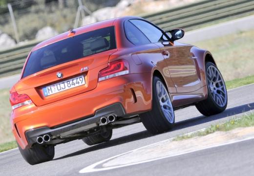 BMW Seria 1 E82 II coupe czerwony jasny tylny prawy