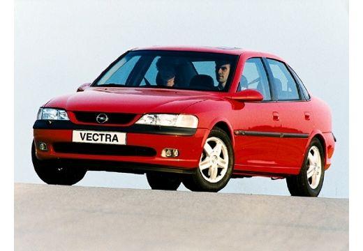 OPEL Vectra B I sedan czerwony jasny przedni lewy