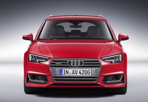 AUDI A4 Avant I kombi czerwony jasny przedni